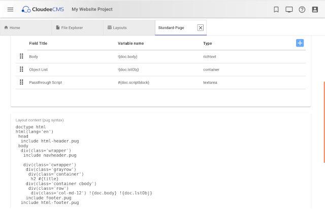 Edit HTML Layouts